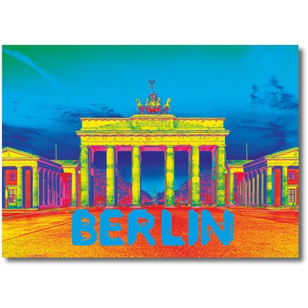 Fotomagnet Brandenburger Tor Neon