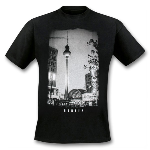 H Shirt Alexanderplatz schwarz S