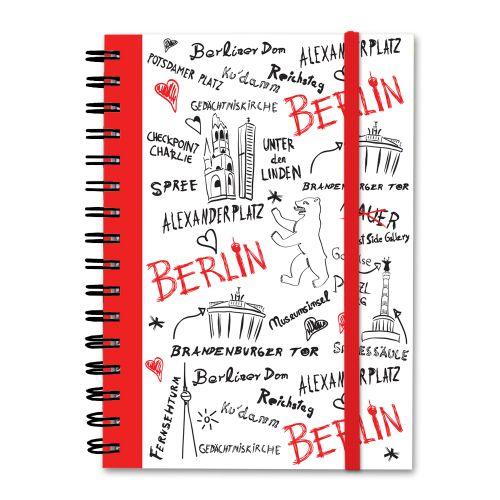 Notizbuch Sketch weiß