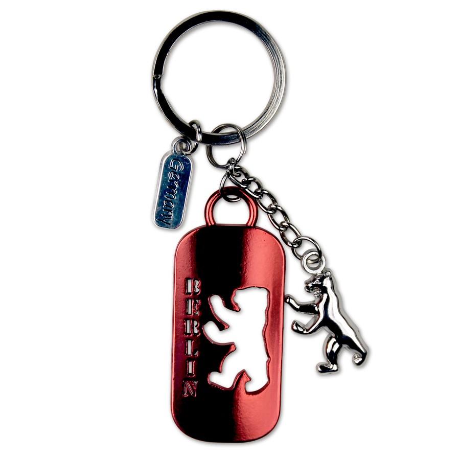 Schlüsselanhänger Berliner Bär