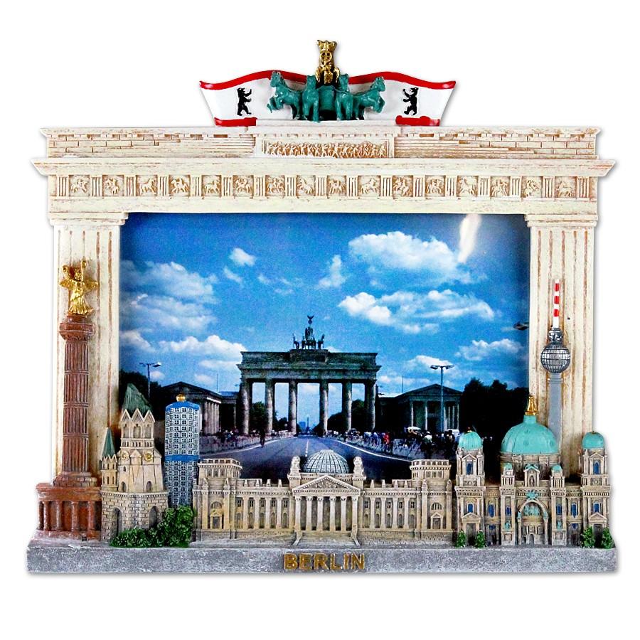 Bilderrahmen Poly Brandenburger Tor