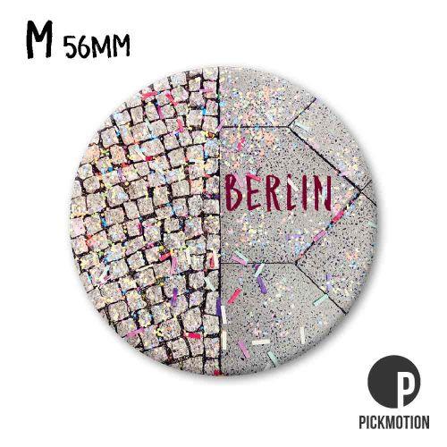 Fotomagnet konfetti für berlin