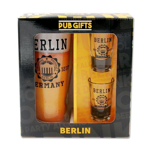 Pub Set Bier und 2 Stamper Stempel BT