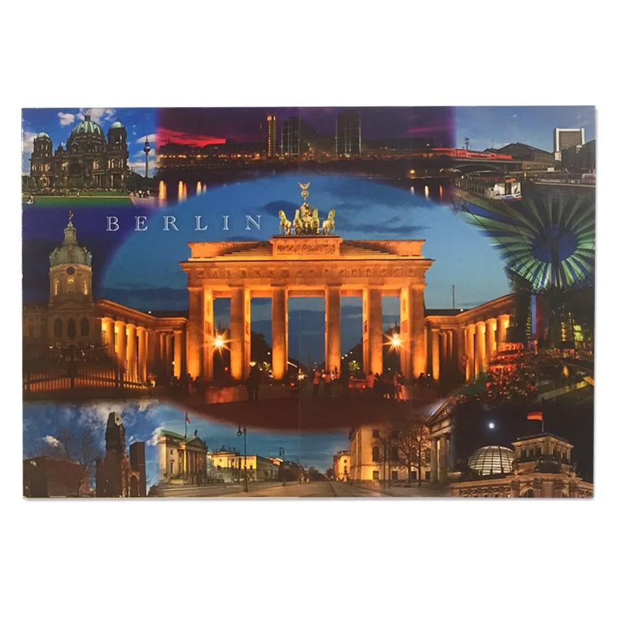 Postkarte Standard QF Berlin 9er Bild