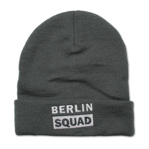 Mütze Berlin Squad dunkelgrau