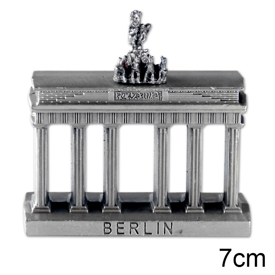 Miniatur Metall Brandenburger Tor 7cm