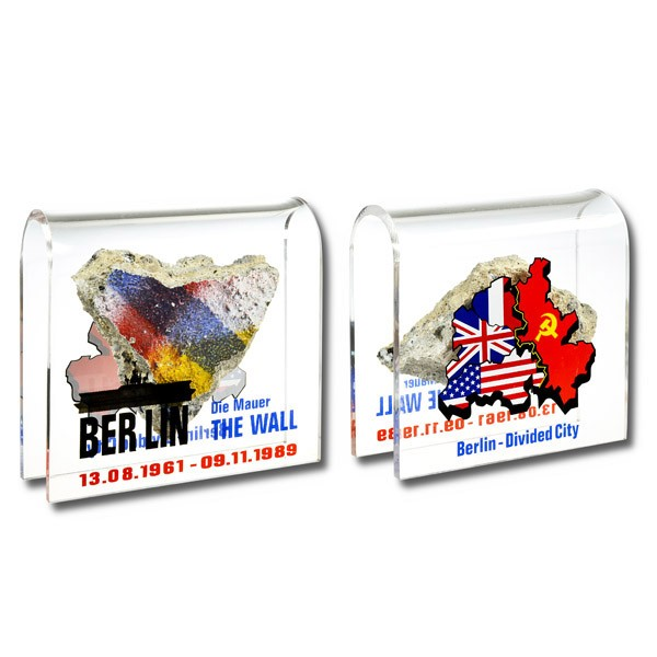 Mauer Acrylbogen BT/CC groß Berlin