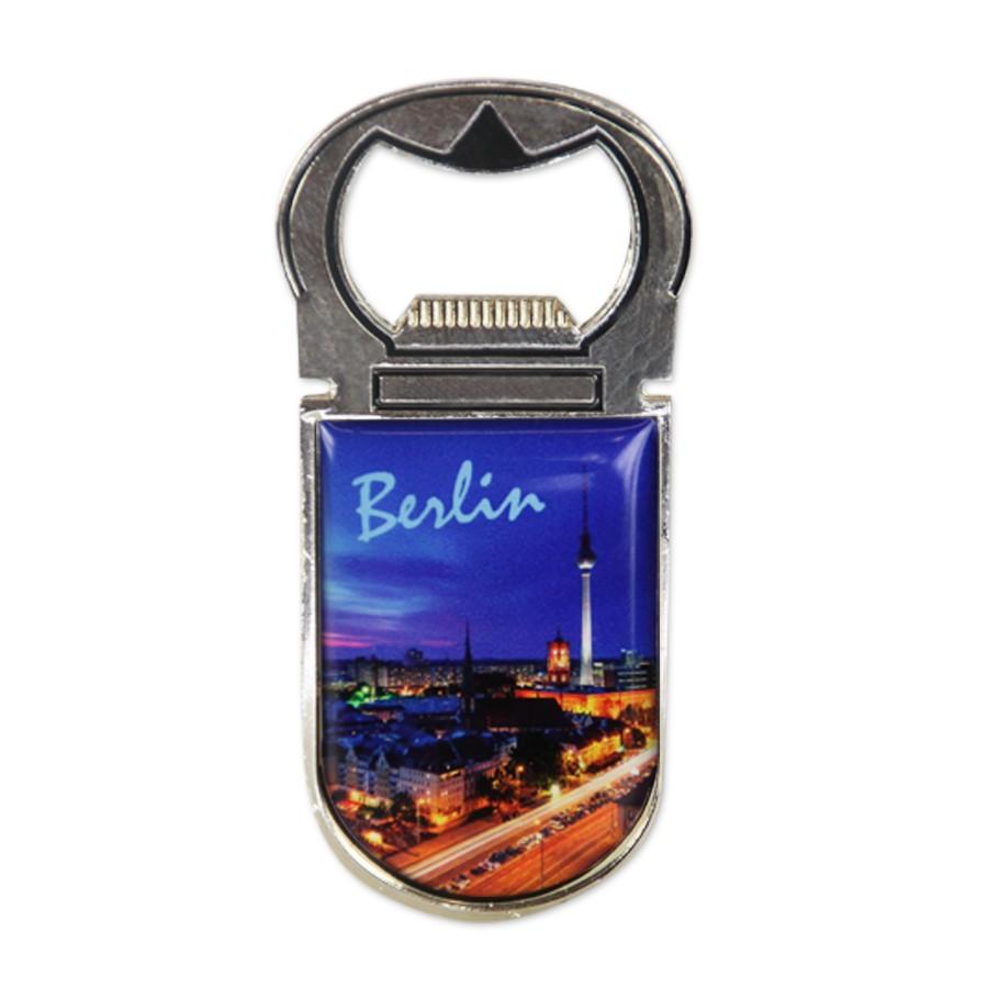 Magnet Flaschenöffner Berlin am Abend