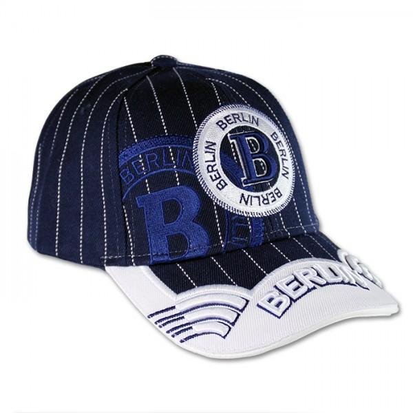 Basecap Baseball Berlin blau