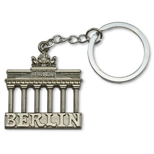 Schlüsselanhänger Metall Brandenburger Tor