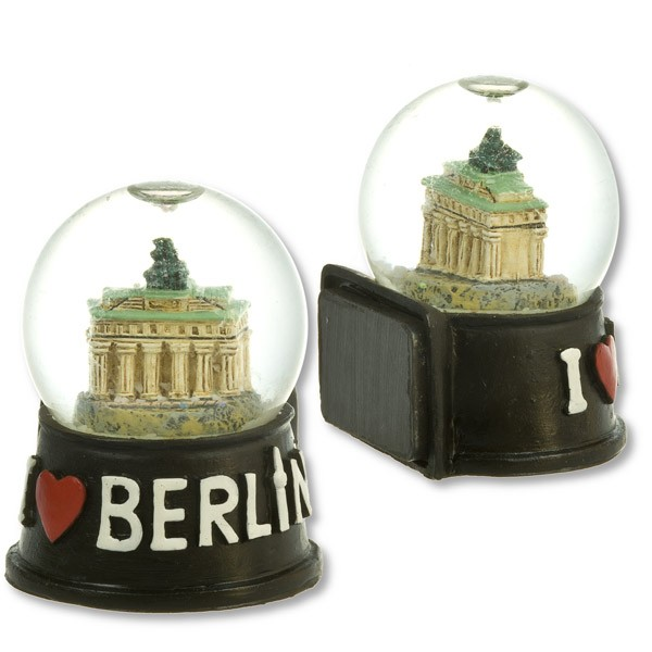 Magnet Poly Schneekugel Brandenburger Tor