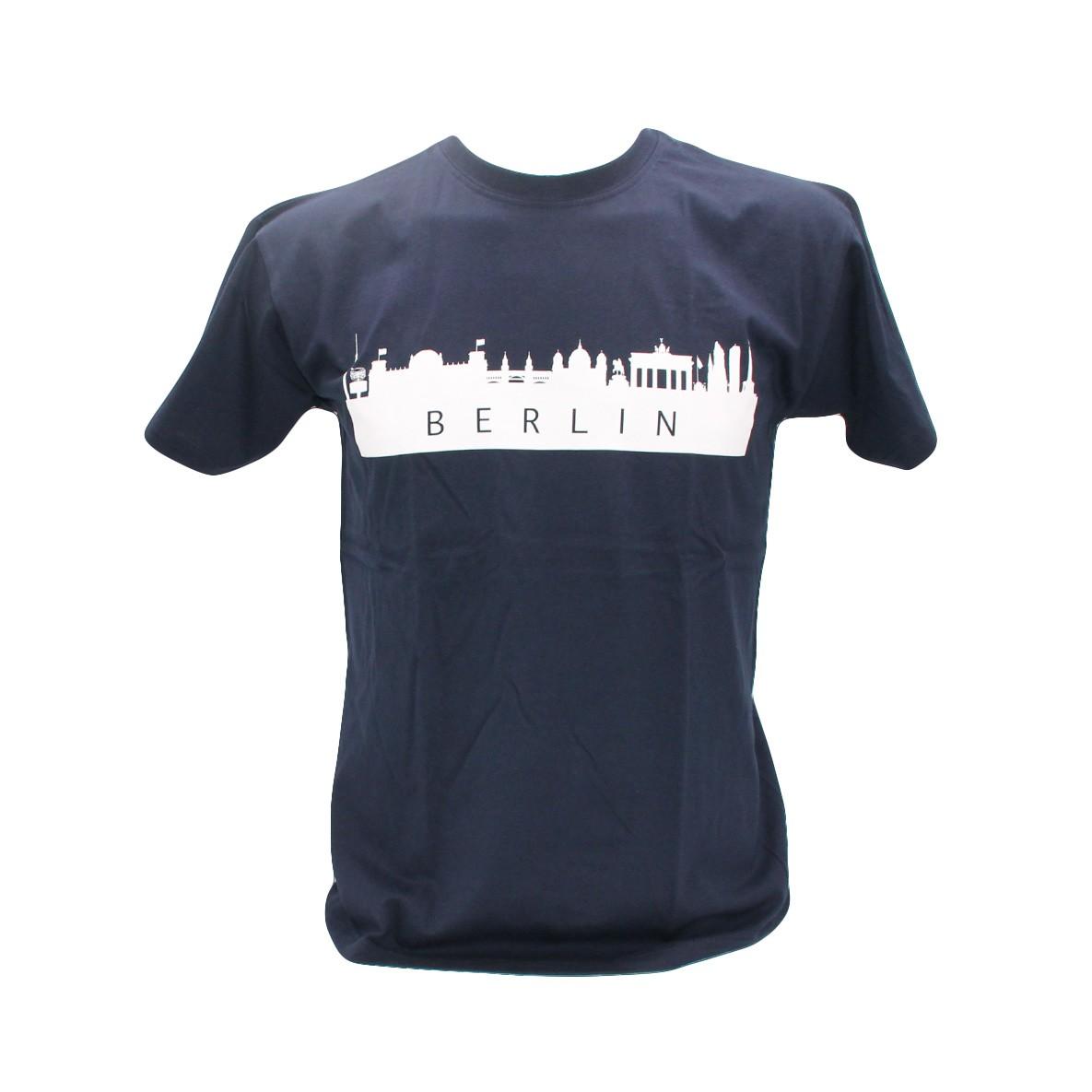 H Shirt Silhouette Berlin marine Größe S