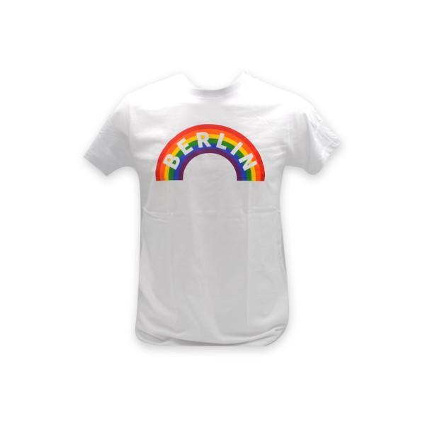 H Shirt Berlin rainbow weiß Größe S