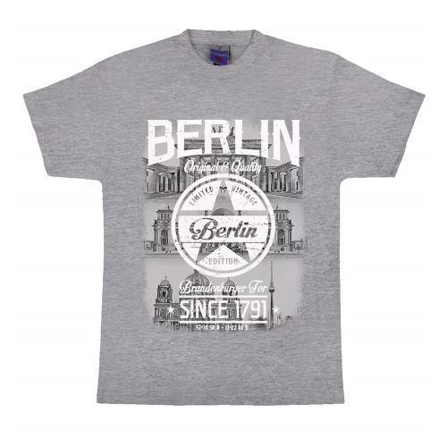H Shirt Stern since 1791 hell grau