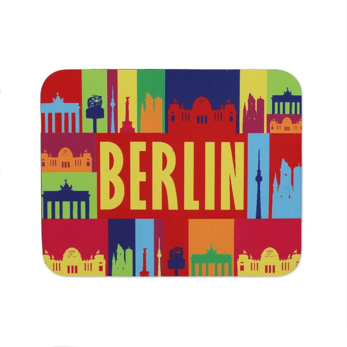 Mousepad Berlin bunt