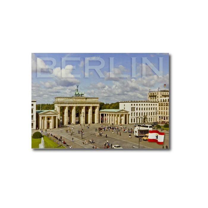 Postkarte Standard QF Ansicht BT + Fahne