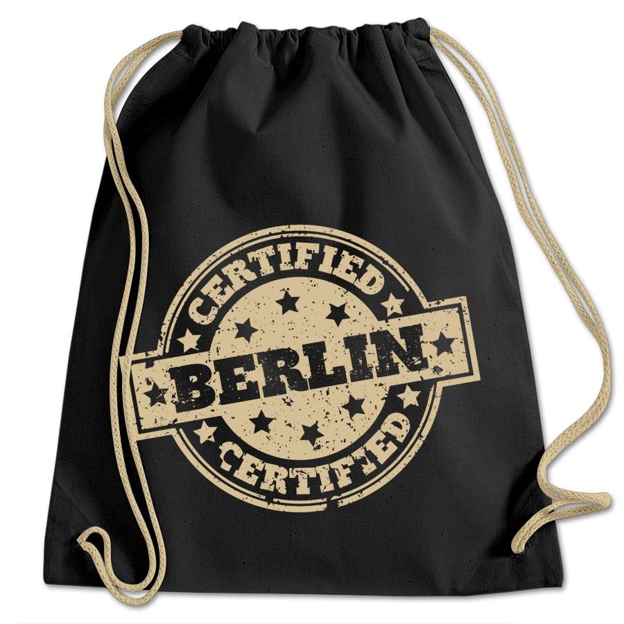 Sportbeutel BW Certified Berlin schwarz