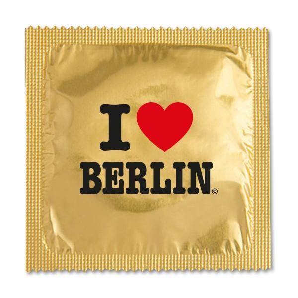 Kondom I (Herz) gold