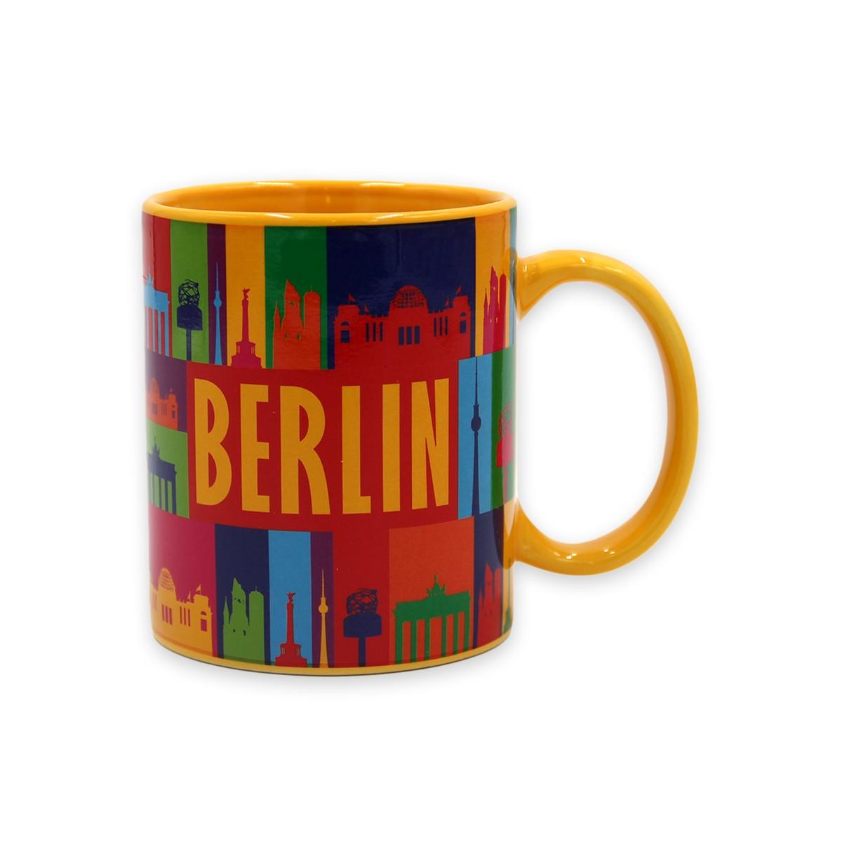 Tasse Berlin bunt