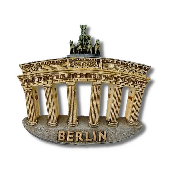 Magnet Poly Brandenburger Tor gedehnt 3D