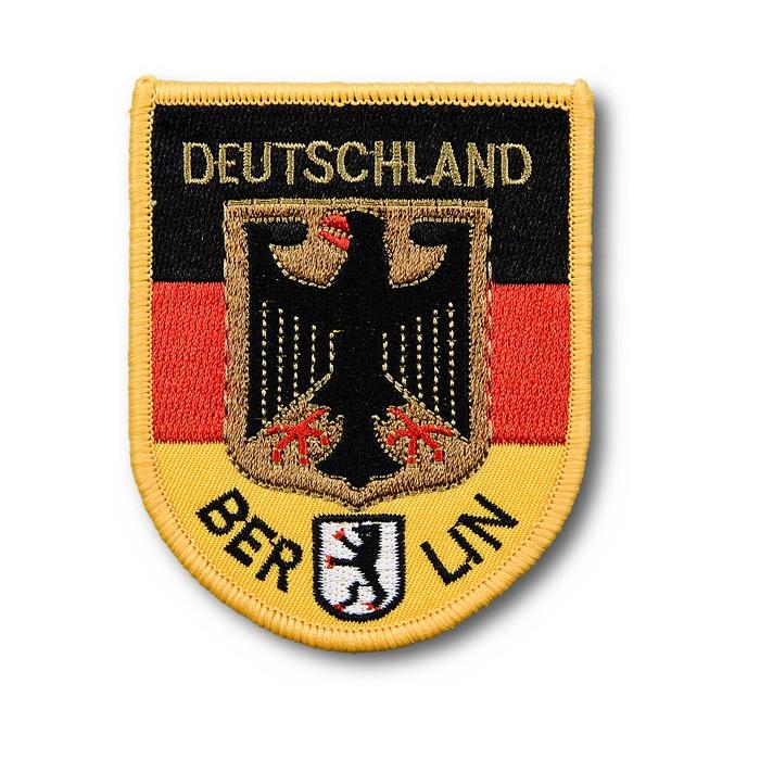 Aufnäher Wappen D-Adler gestickt