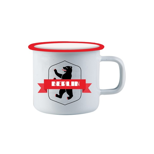 Tasse Emaile Wappen