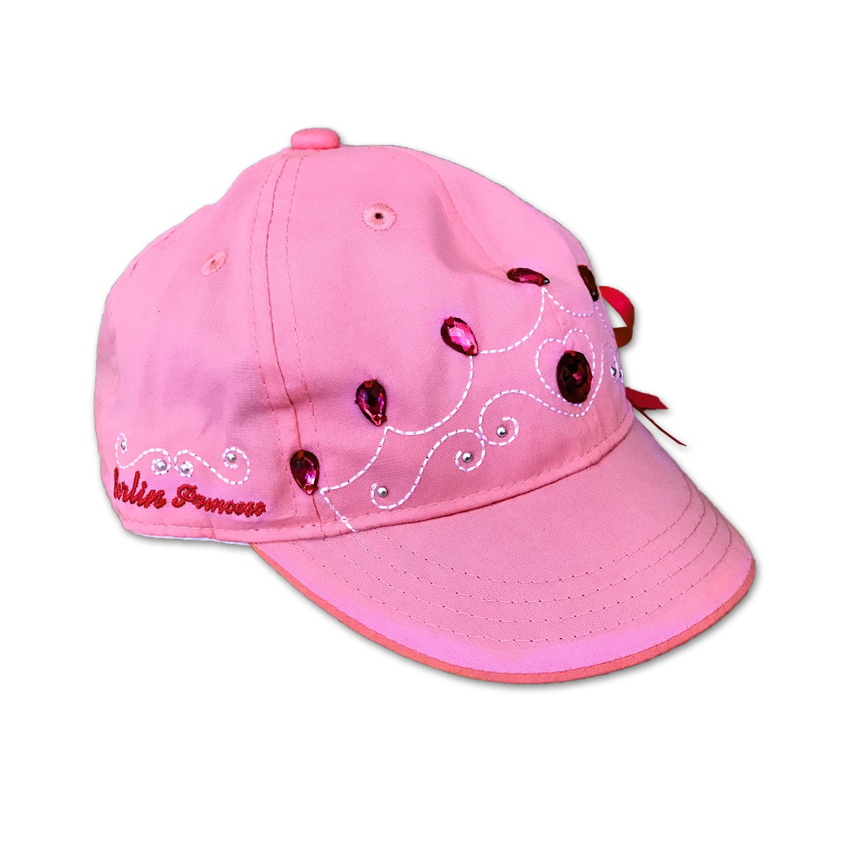 Basecap Kinder Mädchen Berlin rosa