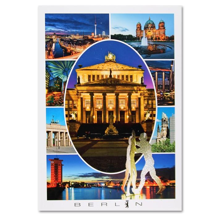 Postkarte Royal HF Berlin 8er Bild