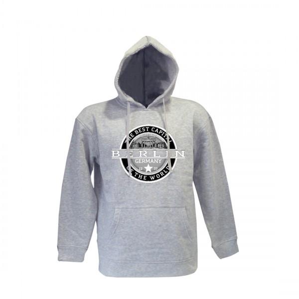 K Sweater Best Berlin hell grau Größe 104
