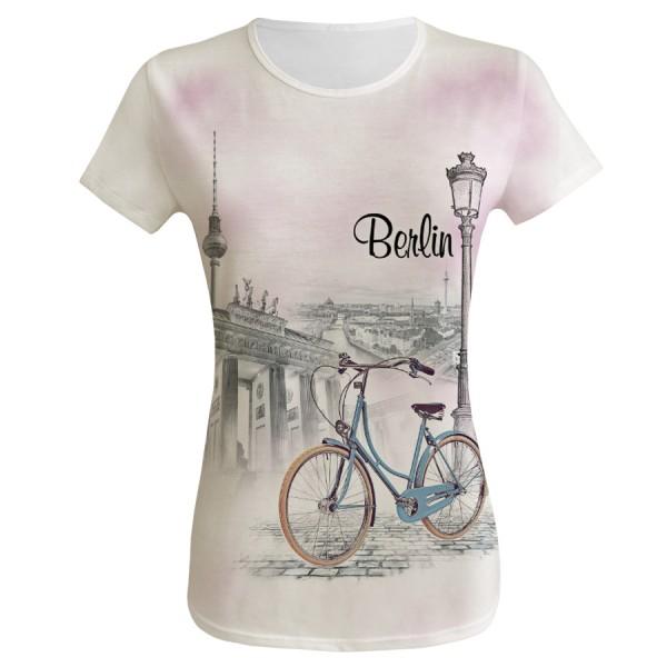 D Shirt Berlin Bicycle Größe S