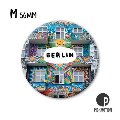Fotomagnet berlin buntes haus Berlin