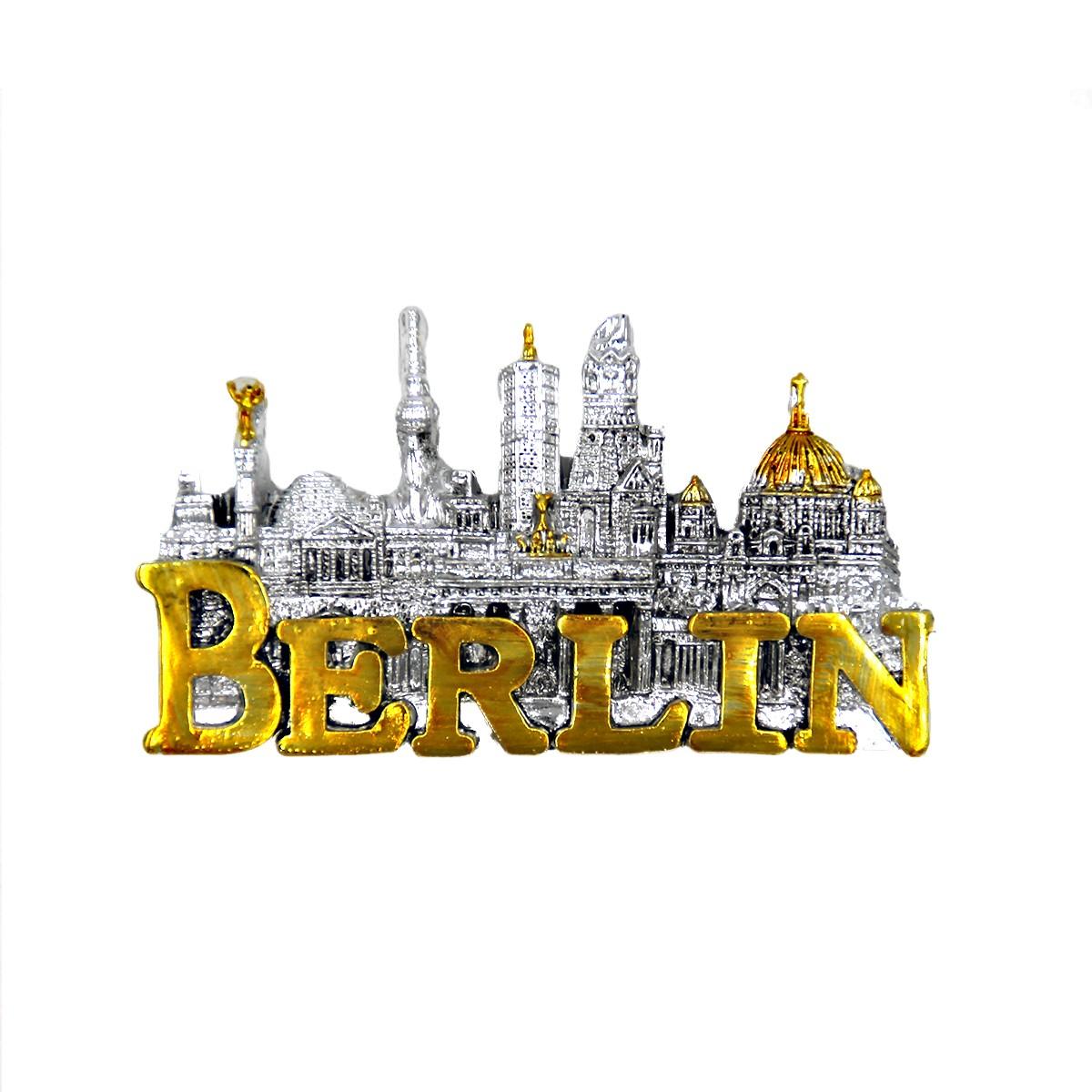 Magnet Poly Skyline Berlin 3D