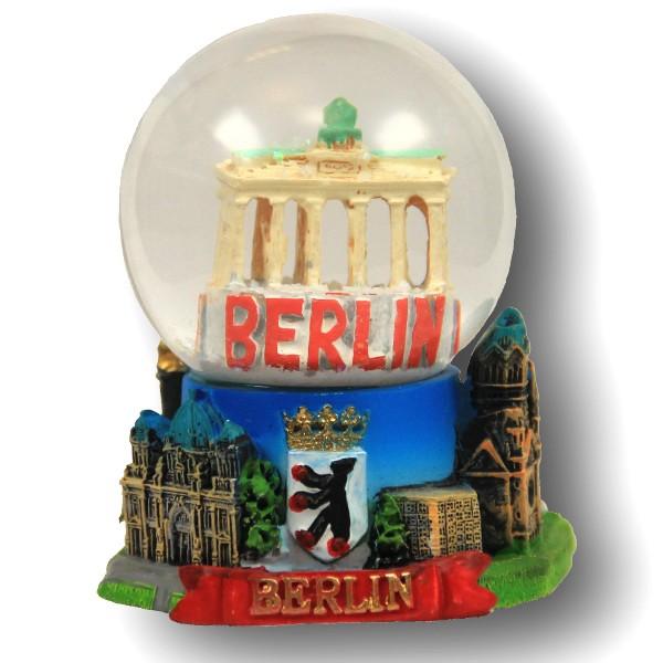 Schneekugel 4,5cm erweitert Übersicht Berlin