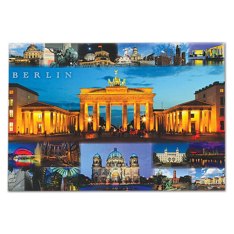Postkarte Standard QF Berlin 16er bild