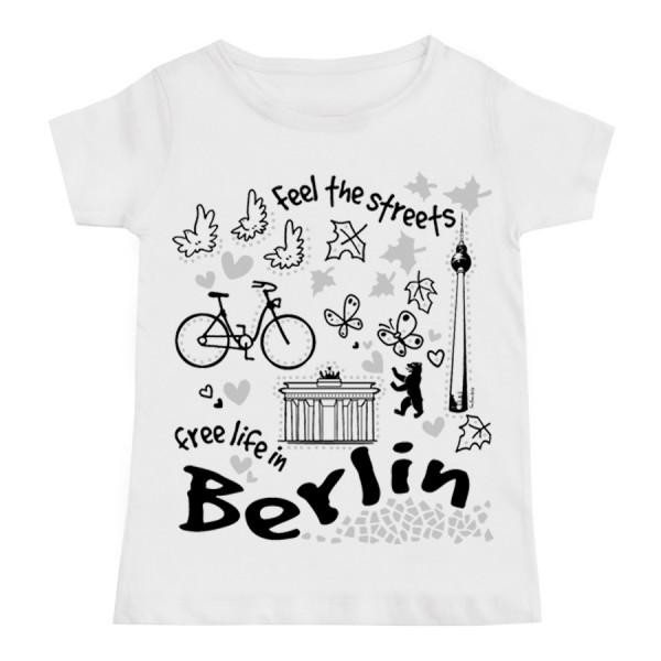 K Shirt Berlin free life Größe 92